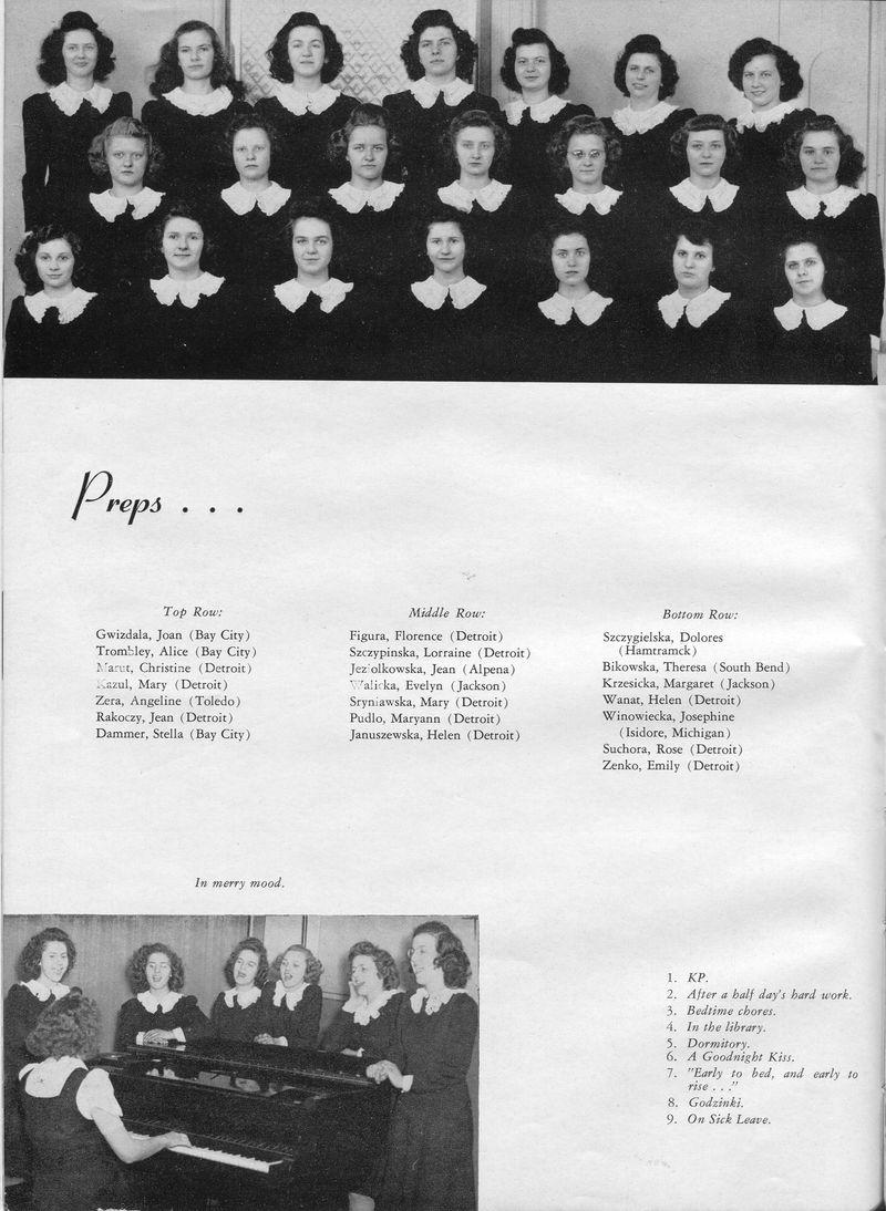 Felician Academy Crest 1945 23