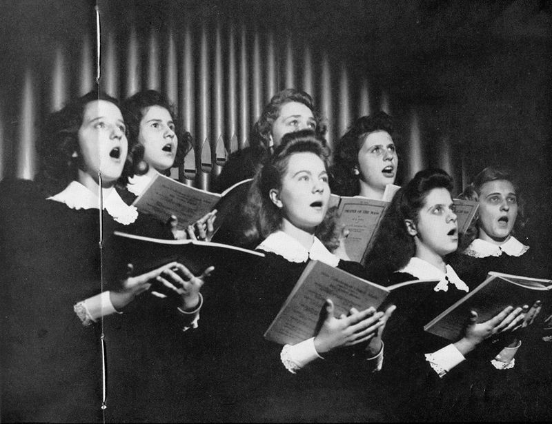 Felician academy choir