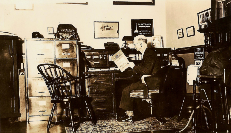 1935_Eddy_Law_and_Insurance_Offices_Everett_Eddy_insurance_agent
