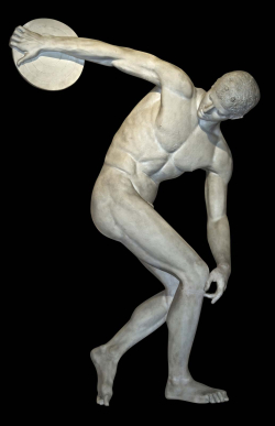 Greek-athlete-discus