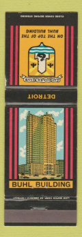 SAVOYARD CLUB MATCHBOOK