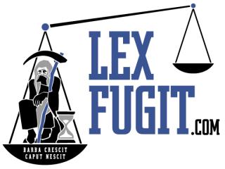 Lex Fugit Logo
